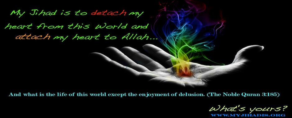 "And what is the life of this world except the enjoyment of delusion."" (The Noble Quran 3:185)"