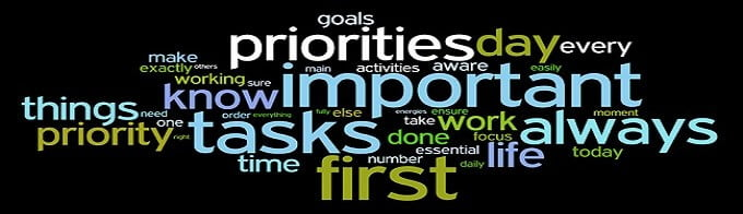 What Are Your Priorities In Life by Bilal Assad