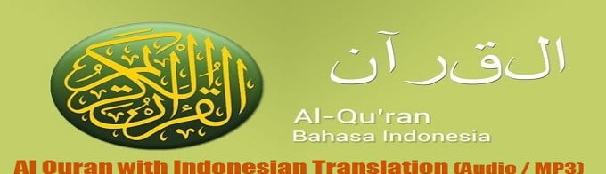 Al Quran with Indonesian Translation (Audio / MP3)