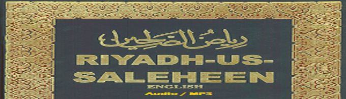 Riyadh-us-Saliheen (Audio / MP3 Book)